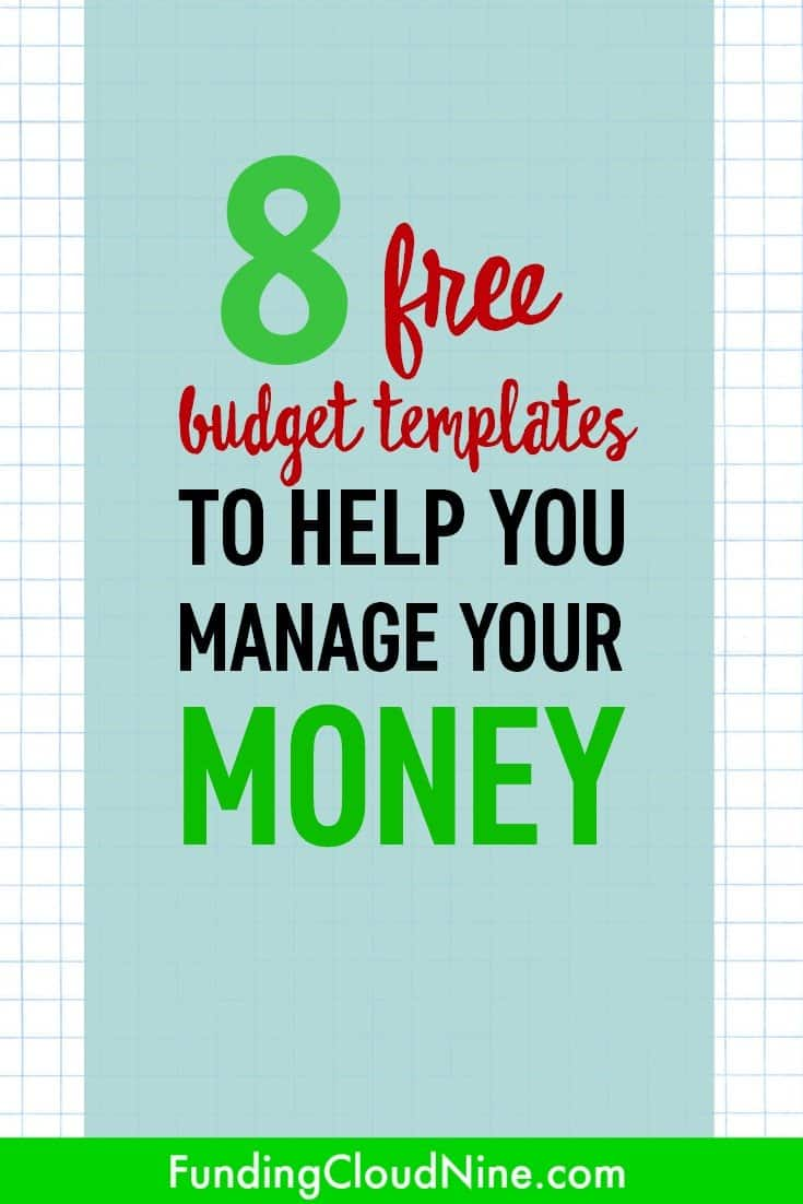 budget spreadsheets free