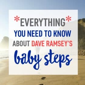 Learn about financial guru Dave Ramsey's Baby Steps and start your journey to financial peace today!