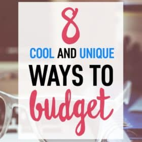 If you're struggling with sticking to a budget, check out these 8 unique ways to help you manage and allocate your money differently!