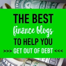 Check out this list of awesome personal finance blogs. You'll definetly bookmark a handful of new websites to expand your money knowledge!