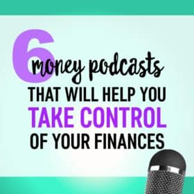 Check out this list of awesome personal finance podcasts! You'll be entertained and learned something different from each one!