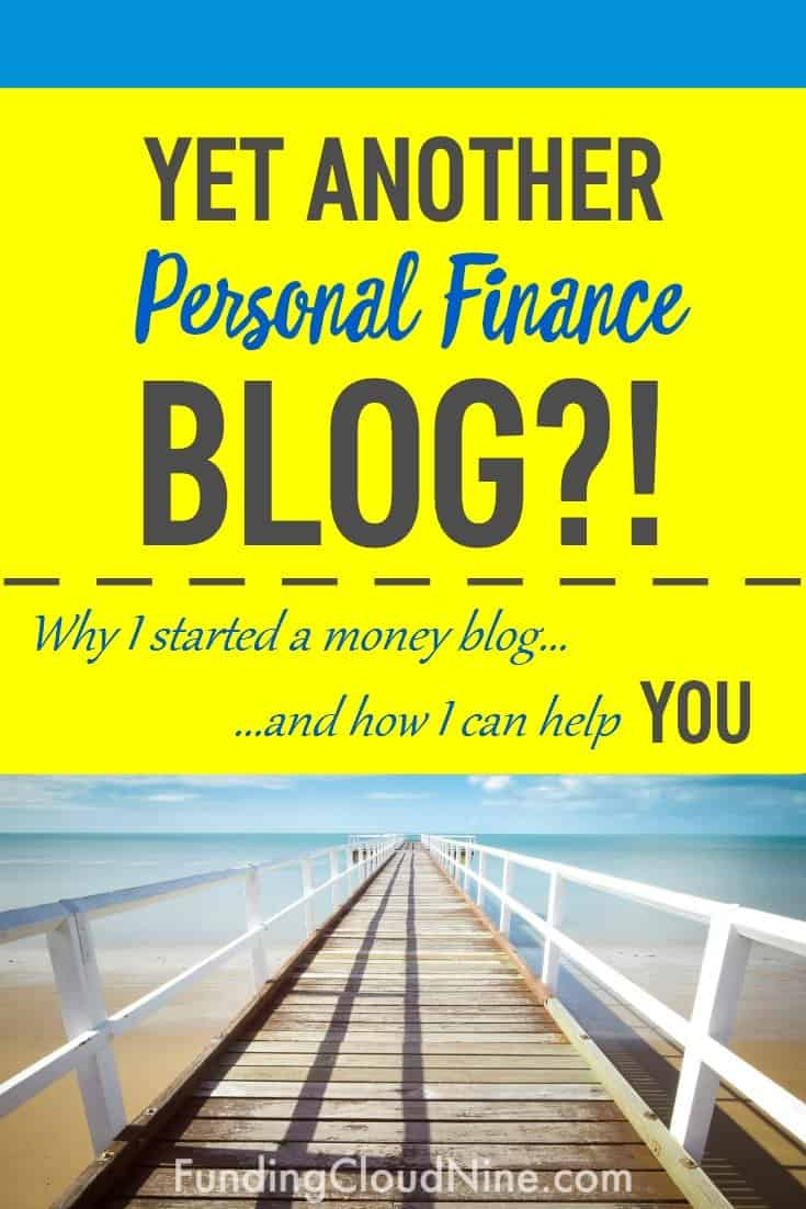 Personal finance blogs helped me get out of six figures of student loan debt. Find out more about why I'm starting my own blog and how I think it will help YOU!