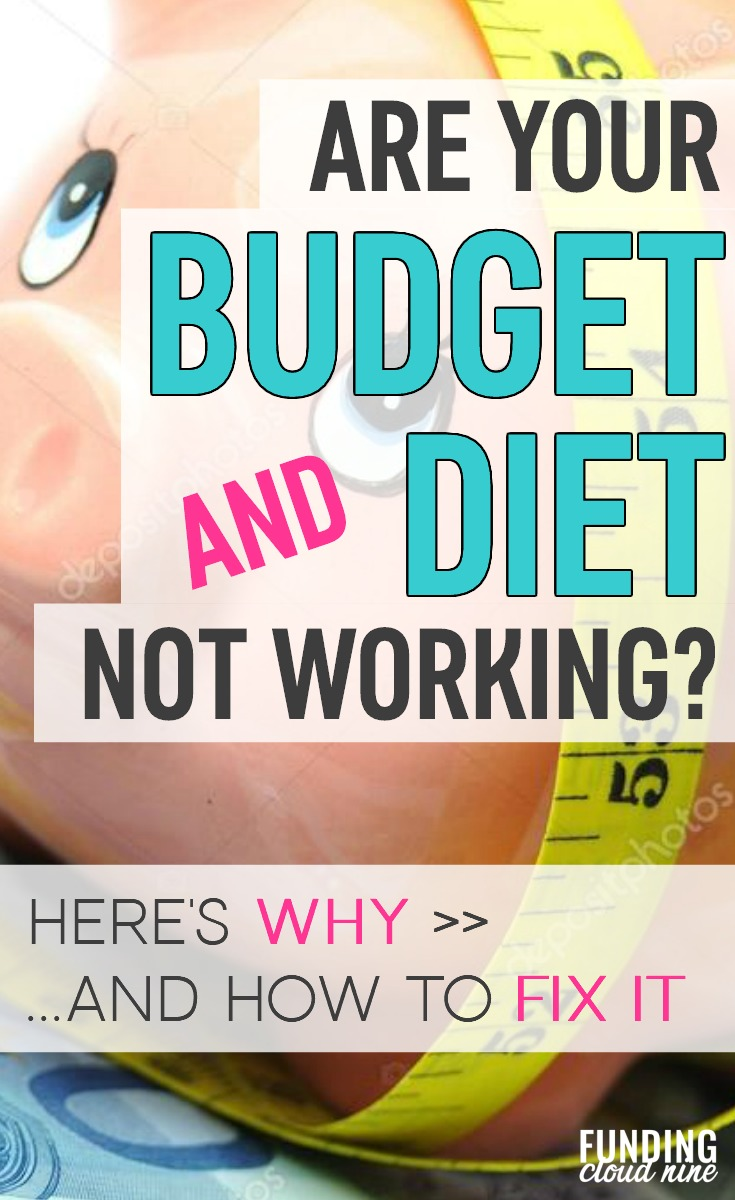 We've all been there. Failed diets. Failed budgets. Find out why this keeps happening, and how to start succeeding at your diet and budget!