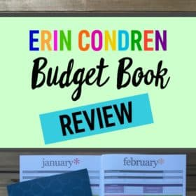 Erin Condren Budget Book Review: Is It Right For You?