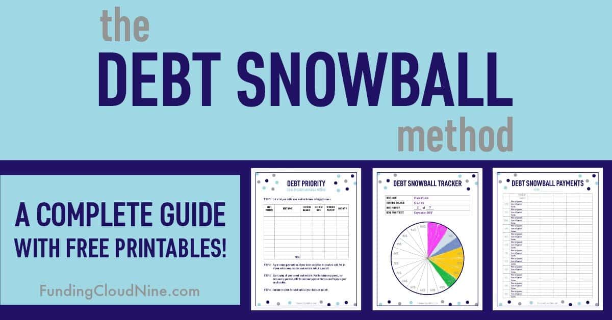 the debt snowball method  a complete guide with free