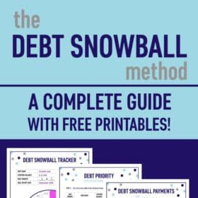 The Debt Snowball Method: A Complete Guide with Free Printables