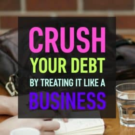 If you want to pay off debt quickly start treating it like a business! Ever heard a business plan? Well now you've heard of a debt plan!