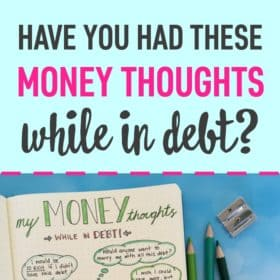 The Random Money Thoughts of Someone in Debt