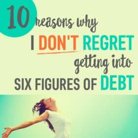 Paying off my debt was one of the hardest things I've ever done. But did it make me regret taking out loans? Nope! Find out why I don't regret getting into student loan debt!