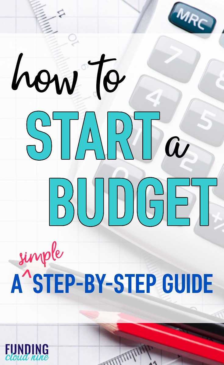 This is the perfect resource to learn how to budget for beginners! Budgeting can be easy with these simple step-by-step instructions. Grab the free monthly budget printables to get you started on the right foot!