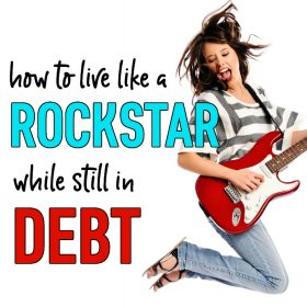 You can still enjoy life while paying off debt! Check out these ideas on how to take vacations, give generously, dress nicely, eat like a king, and more while still in debt.