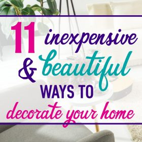 Decorating on a budget is possible. Check out these cheap (ahem, inexpensive) and easy ways to decorate your apartment or home. Whether you just moved or simply need a scenery change, these actually doable ideas will transform your space.