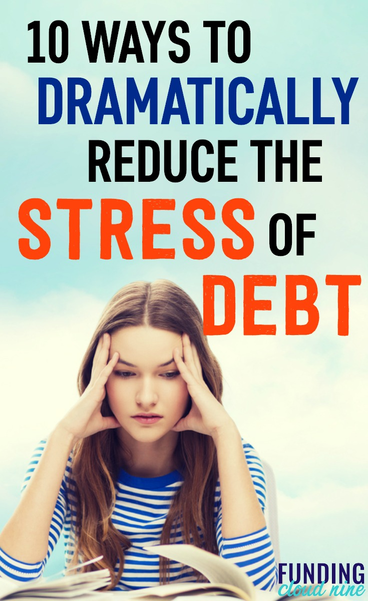 Worrying about finances can be all-consuming. Find out how to reduce your debt stress and anxiety and overcome your debt problems.