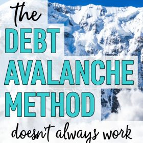 Debt Avalanche Method: Why It Didn't Help Me Get Out of Debt