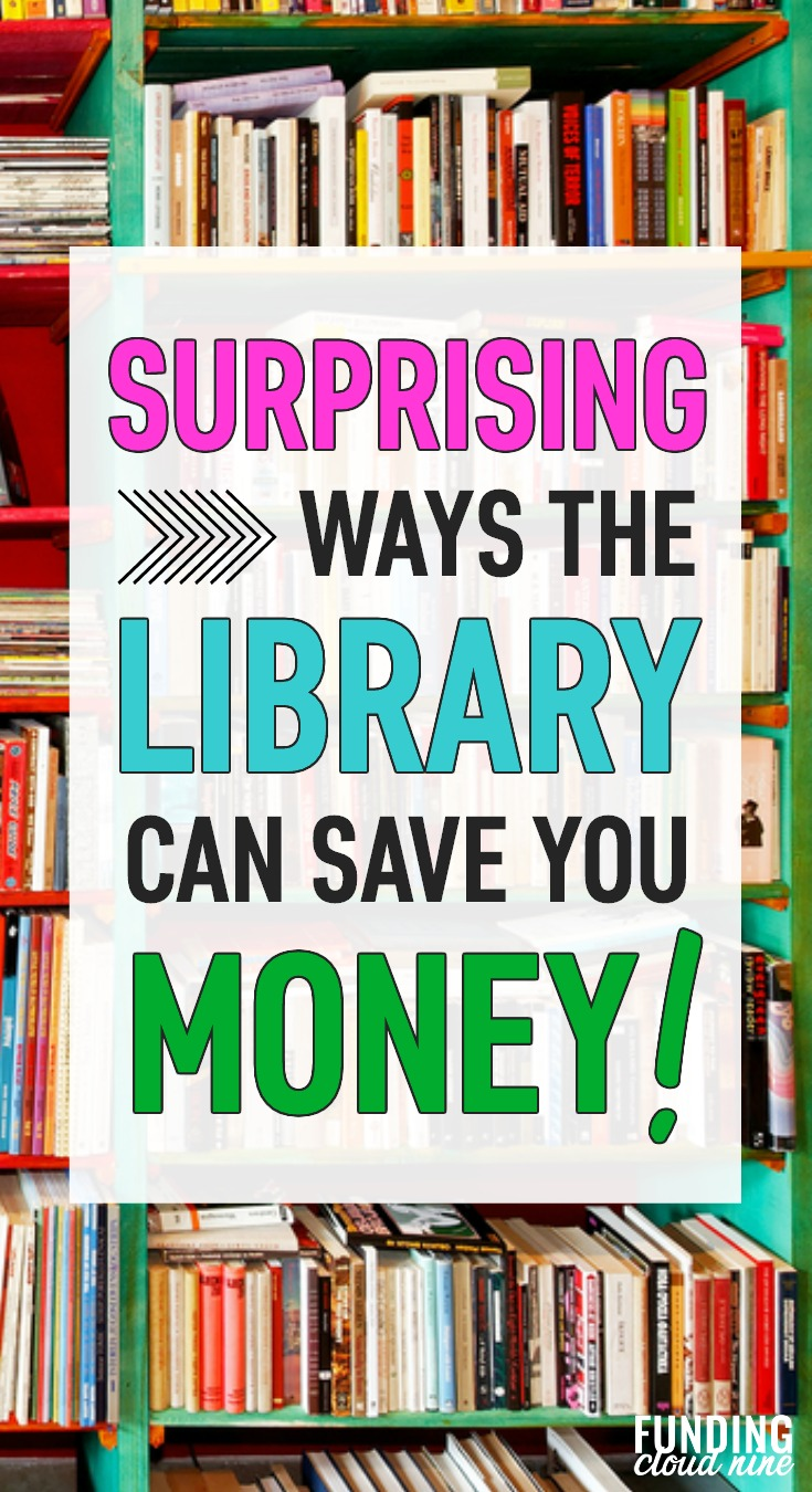 The library is so much more than just a place to borrow books! Check out all these great benefits from the public library that can save you money.
