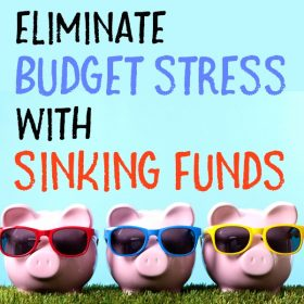 Sinking funds are the secret to a successful budget. Reduce your financial stress by including sinking fund categories in your budget.