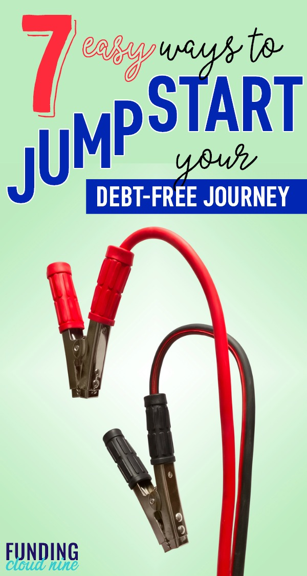 If you want to start paying off debt, here are seven ways to jump-start your debt-free journey!