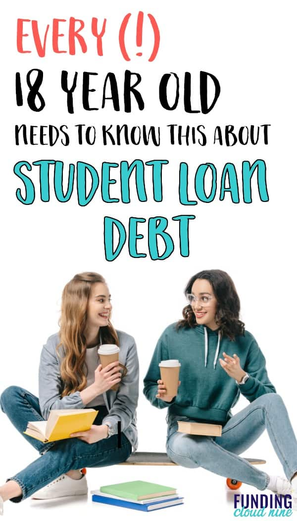 If you are (or have) a high school student thinking about taking out student loans to pay for college, you need to read this! From someone who has been-there-done-that with student loans, you'll find out helpful advice and things to consider before taking the debt plunge.