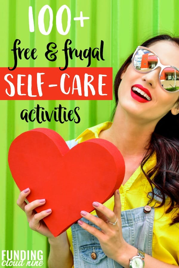 If you need a break from the craziness of life, here's a list of FREE self-care ideas and activities to help you finally focus on yourself. It's time to focus on your mental health.
