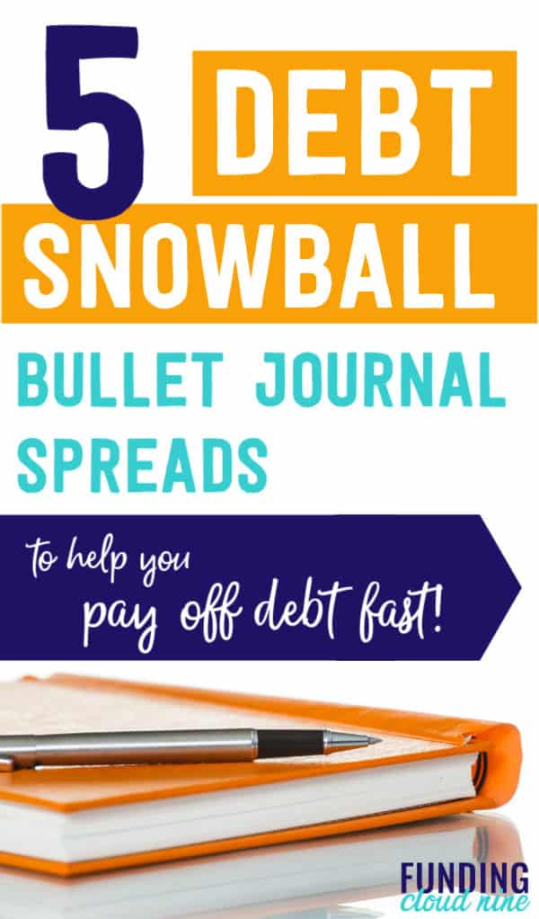 Pay off debt fast with these debt snowball bullet journal ideas! A debt tracker, priority list, & more will help you organize your finances to become debt-free!Pay off debt fast with these debt snowball bullet journal ideas! A debt tracker, debt priority list, debt payment recorder and more will help you organize your finances to become debt-free!