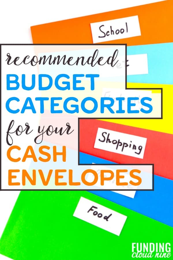 Picking the right cash envelope categories for your envelope system is key for budgeting success. Check out this step-by-step guide to choosing the best categories, or simply skip ahead to the top five recommended cash envelope budget categories.