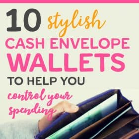 Cash envelope wallets can help you stay organized and in style while you better manage your money. The cash envelope system can help you stay in budget, save more money, or pay off debt.