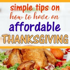 Tips to Celebrate Thanksgiving on a Budget