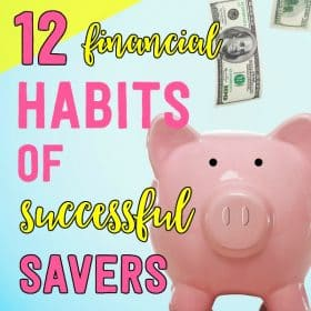 Want to start saving money like a pro? Boost your savings by adopting these twelve habits of successful savers.
