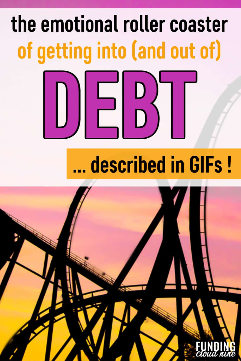 Debt doesn't just affect your wallet; it also affects your emotional state. These gifs describe the hidden side of debt - from the anxiety and hopelessness to the confidence and freedom that comes with finally paying off debt.