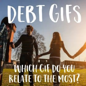 Today the Funding Cloud Nine community is sharing GIFs that represents how they currently feel about their debt. Getting into and out of debt is a roller coaster filled with a wide range of emotions and we want to make sure that nobody feels alone in the journey!