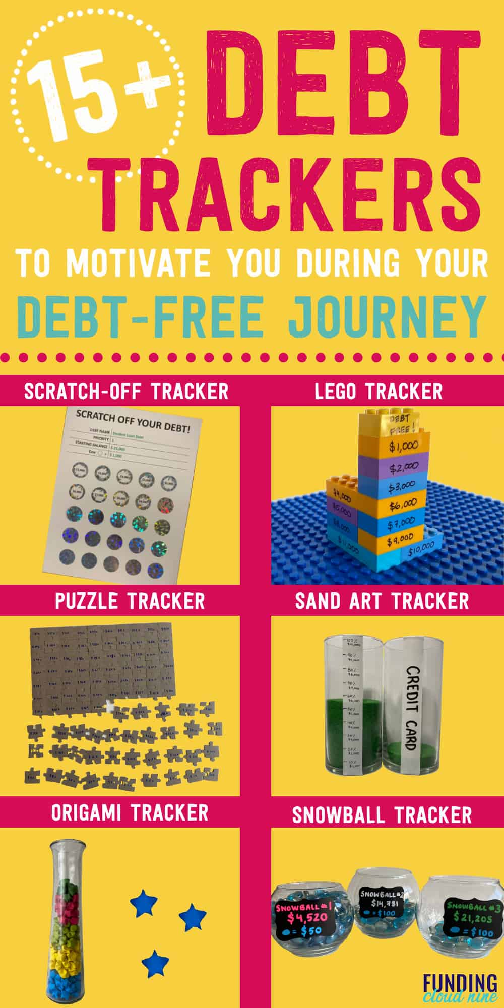 Using a debt tracker can help motivate you during your debt-free journey. Manage your debt and visualize your progress with these debt tracker ideas. From spreadsheets to debt apps to printable debt trackers - you'll find one that suits your needs.
